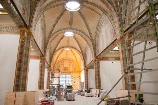 Rijksmuseum tijdens de verbbouwing