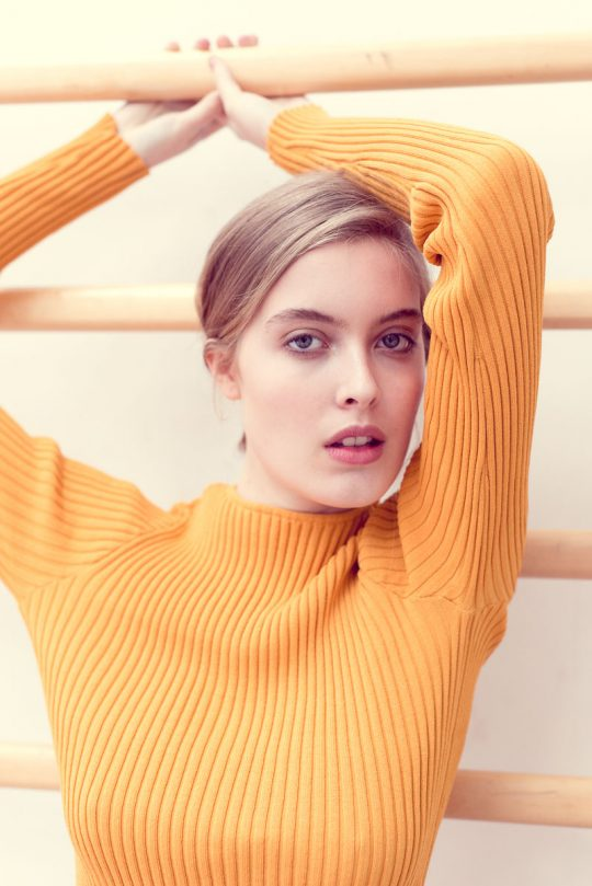 Anna Stockel (Le Management) Copenhagen. Hair & make-up artist: Emilie Preskou