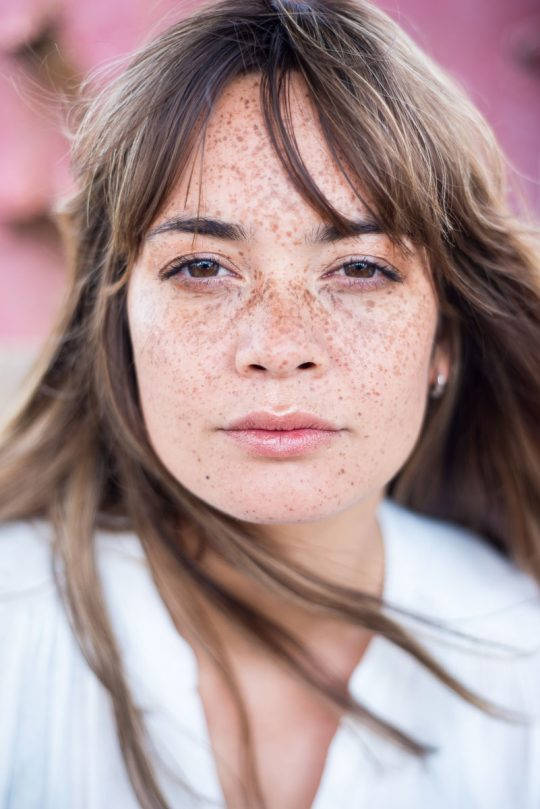 Model: Melissa van Beek. Visagie: Petra Neumann