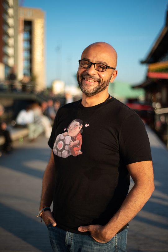 Mo Gawdat auteur en ex-topman van Google X - voor Intermediair