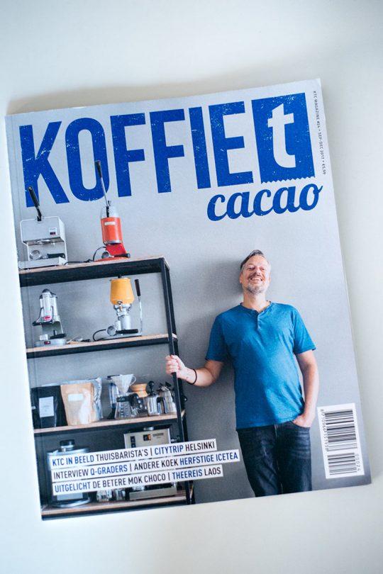 Coverfoto van magazine KoffieTcacao